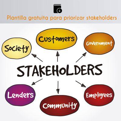 comunicación estratégica, priorización stakeholders