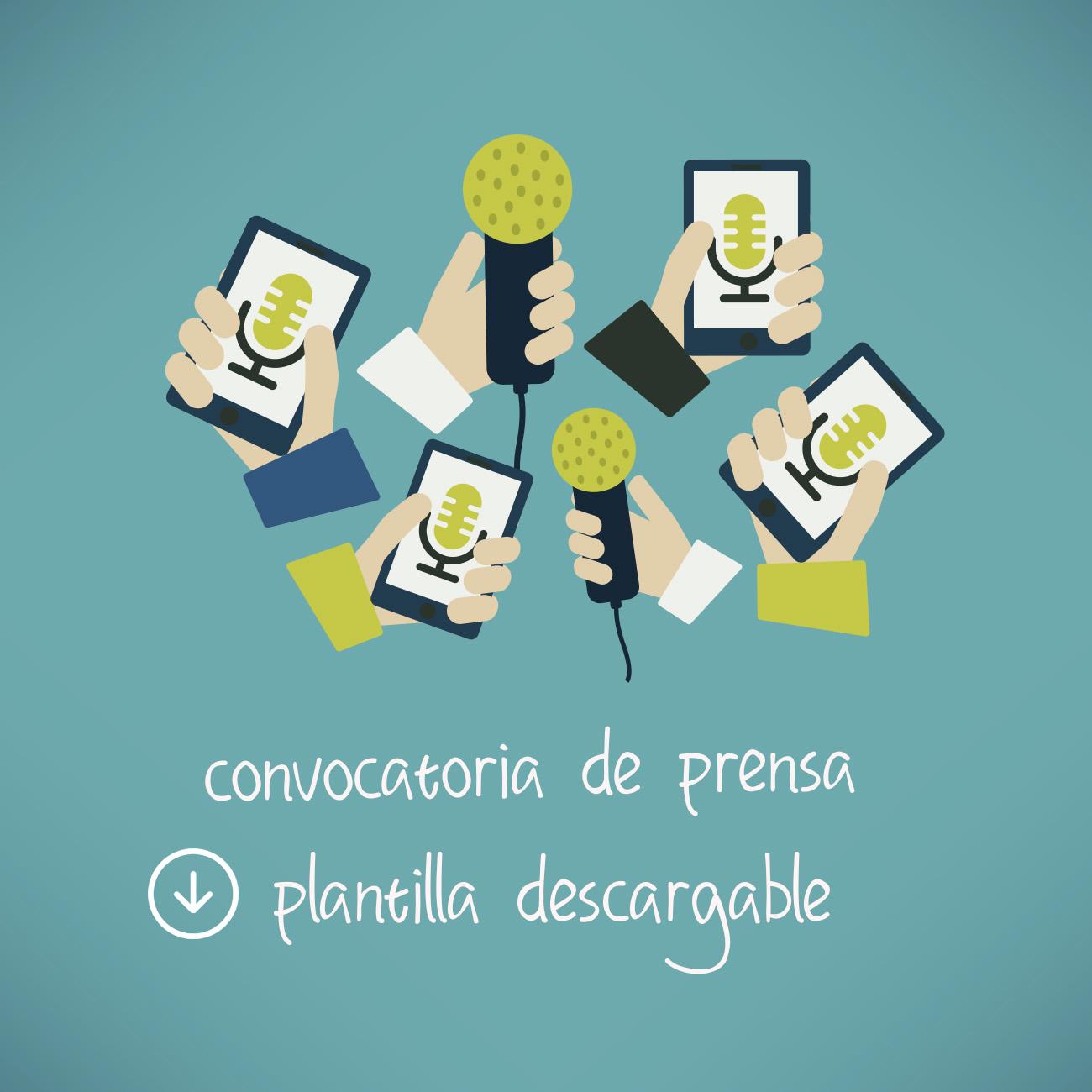 Convocatoria de Prensa plantilla